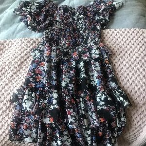 Misa Los Angeles floral dress
